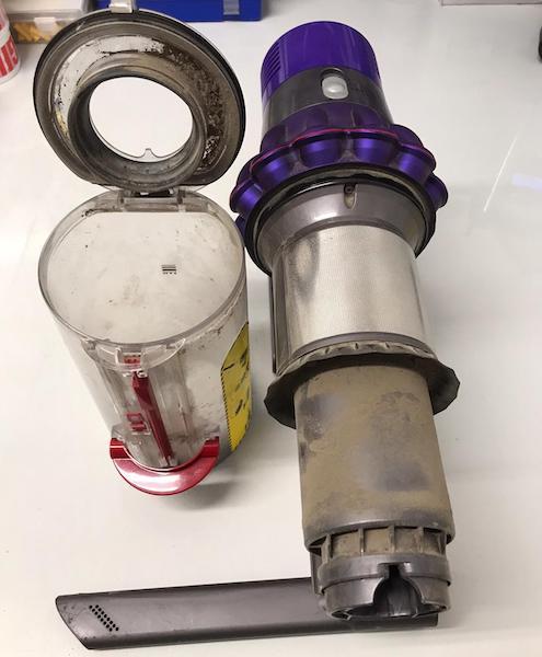 Dyson Hand Held Vacuum Pulsing?